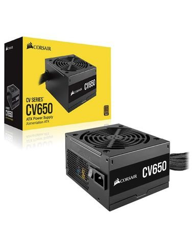 CORSAIR CV Series CV650, 650W ATX12V, Non-Modular Power Supply