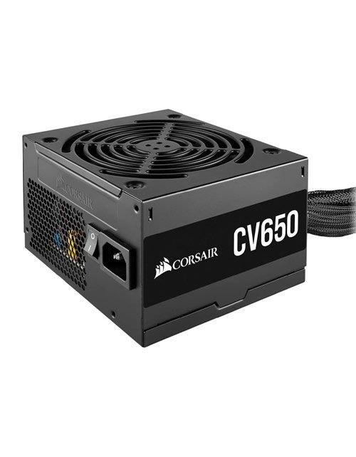 باور سبلاي كمبيوتر كورسير CV650، استطاعة 650 واط، ATX12V، غير معياري