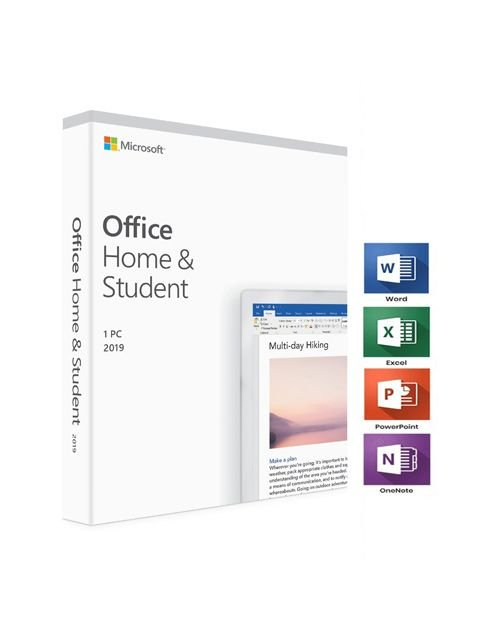 مايكروسوفت أوفيس 2019 هوم اند ستيودنت، كود رقمي، عربي/ انجليزي، مستخدم واحد، رخصة دائمة