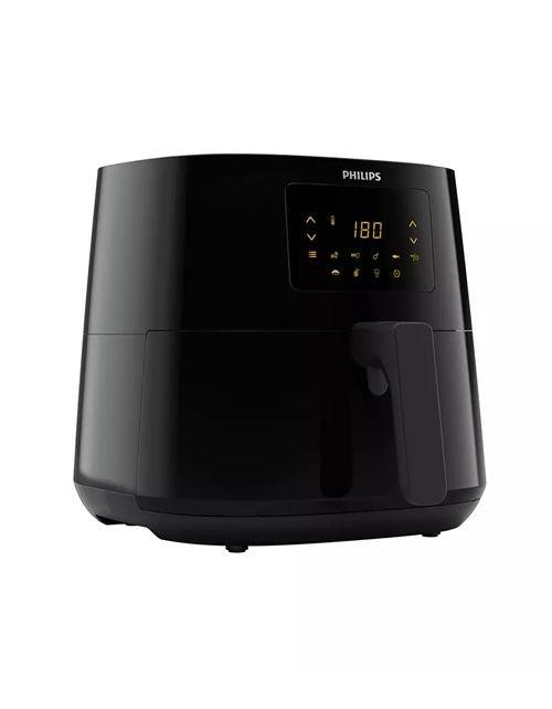 قلاية هوائية فيلبس6.2 ليتر 1.2 كغ، HD9270/91 أسود بتقنية دوارن الهواء، 2000 واط