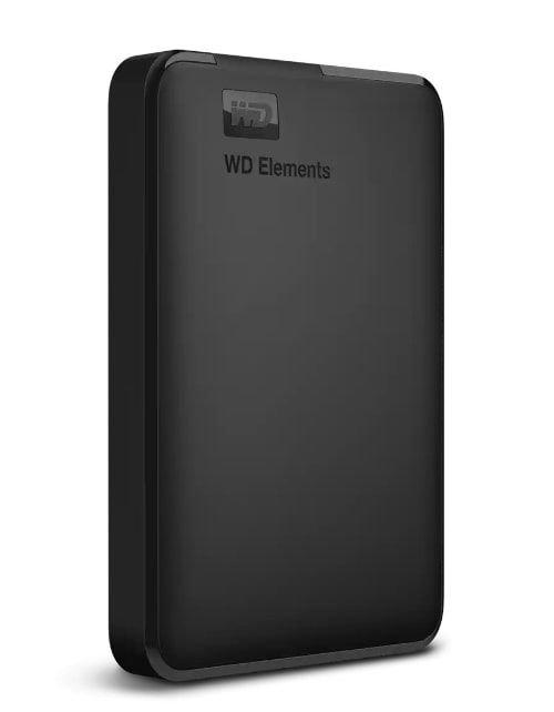 هارد ديسك خارجي ويسترن ديجتال إلمنتس 2.5، HDD سعة 2 تيرابايت، أسود