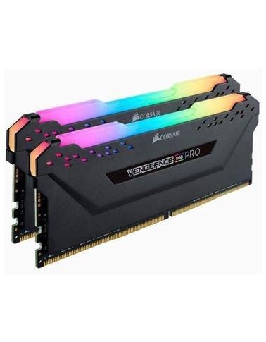 Corsair Vengeance RGB PRO 16GB (2 x 8GB) DDR4 RAM, 3000MHz C16 ,Black | CMW16GX4M2D3000C16