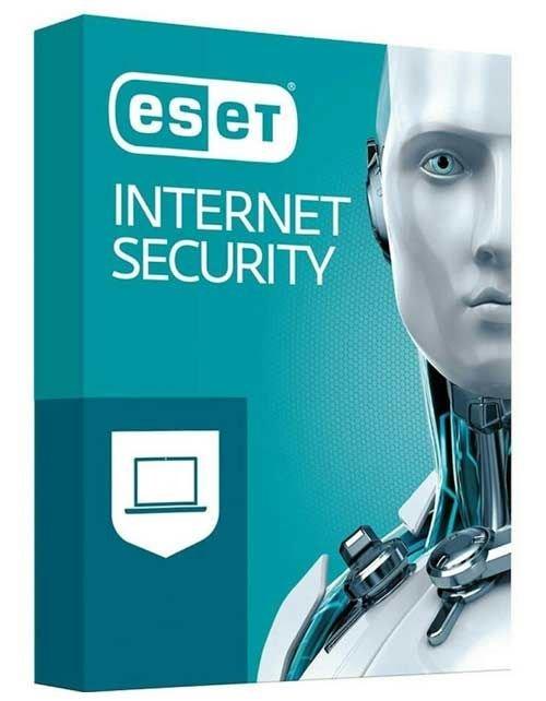 برنامج انتي فايروس ايسيت نود 32 انترنت سكيوريتي، كود رقمي لجهازين، عام واحد