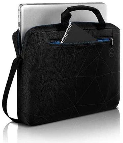 حقيبة لابتوب ديل 15 الأساسية، للابتوب والنوت بوك حتى مقاس 15.6 بوصة، ضد العوامل الجوية، لون أسود