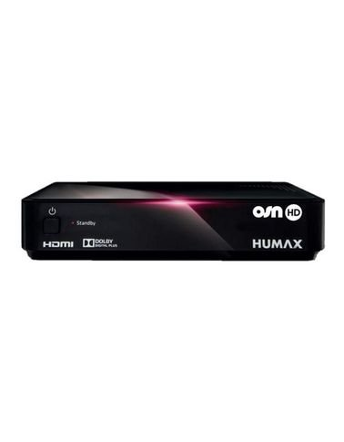 Humax Receiver HD-1000S, High Definition, OSN, Black