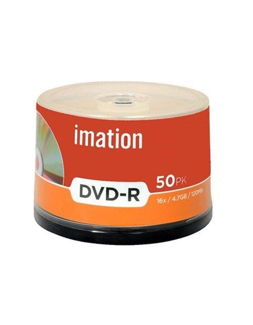 أقراص دي في دي إيميشن سبيندل، 50 قرص، 4.7 جيجابايت، نوع DVD-R