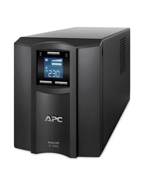وحدة يو بي إس APC Smart-UPS C، شاشة LCD، استطاعة 1500VA