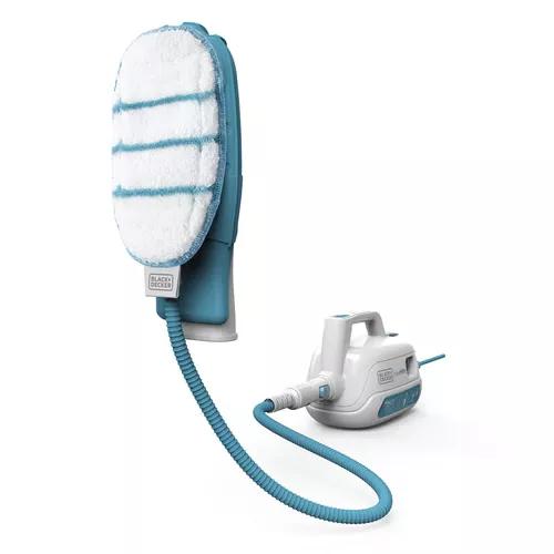 ممسحة بخار محمولة، بلاك أند دكير إستيميت برو، 1000 واط، أبيض أزرق