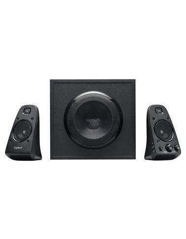 Logitech Z623 Speaker, 400W, Subwoofer, 2 Satellites, Black