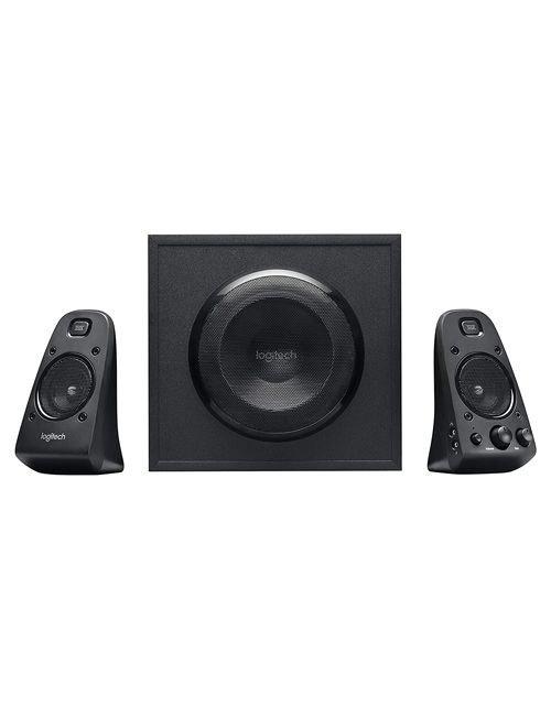 مكبر صوت لوجيتك Z623، استطاعة 400 واط، سبووفر، 2 سبيكر إضافي، أسود