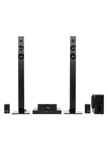 Panasonic Home Theater 5.1ch, 300w, Multi Connection, Black