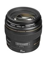 Canon EF 85mm f/1.8 USM, Compatible with EOS Series, Black
