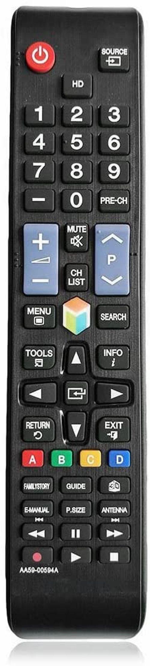 جهاز تحكم عن بعد سامسونج، يدعم شاشات سامسونج الذكية، أسود