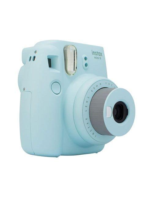 كاميرا فورية فيوجي فيلم ميني 9، لون أزرق ثلجي