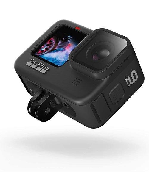 كاميرا الحركة جوبرو هيرو 9، 20 ميجابكسل، تصوير 5K، ضد الماء، لون أسود
