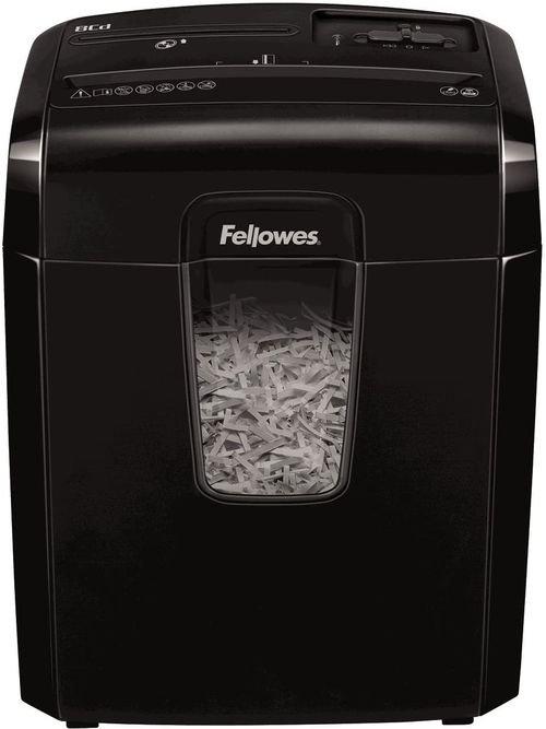 آلة تمزيق الورق فيلوز، تقطيع الأقراص المدمجة والدبابيس وبطاقات الإتمان، 8 قطع