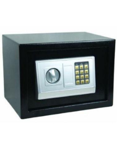 خزنة إلكترونية ميجا، 25×35×25 سم، أسود