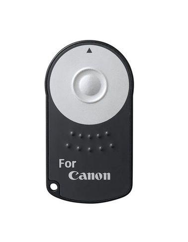 ريموت كاميرا لاسلكي، متوافق مع كاميرات كانون DSLR، لون أسود