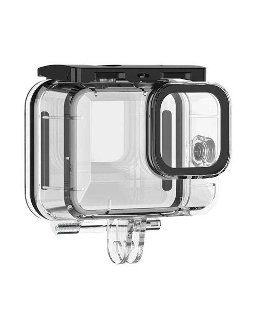 غطاء حماية لكاميرا جوبرو هيرو 9، مضاد للماء، شفاف