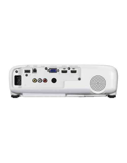 بروجكتر إبسون EB-U05، قدرة 3400 لومن، وايفاي، لون أبيض