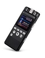 EagleNet Digital Voice Recorder, 8GB Storage, MP3/WAV Support