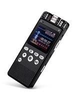 مسجل صوت رقمي من إيجل نت، 8 جيجابايت ذاكرة تخزين، دعم MP3/WAV
