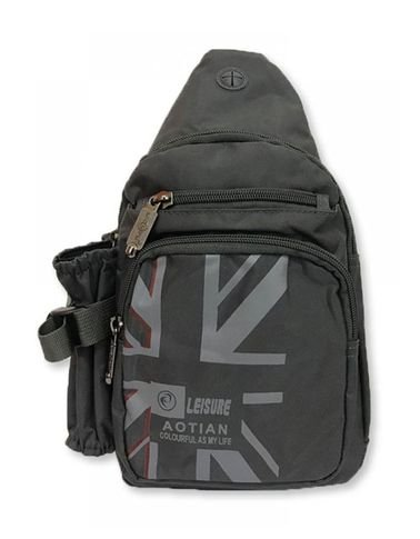 حقيبة ظهر للتابلت من Aotian، قياس 10 بوصة، لون أسود