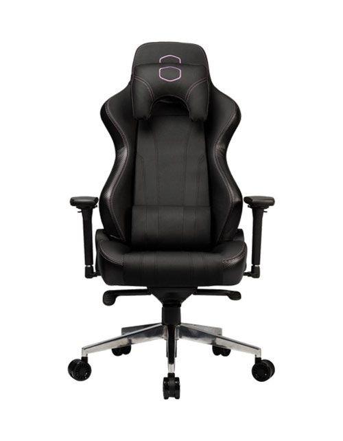 كرسي ألعاب كولر ماستر Caliber X1، قابلة للتعديل، لون أسود