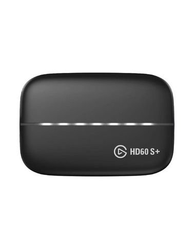 جهاز التقاط الفيديو إيلجاتو HD60+، يو اس بي، دقة 4k، لون أسود