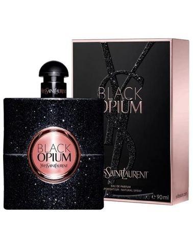 Black Opium by Yves Saint Laurent for Women, Eau de Parfum, 90 ml