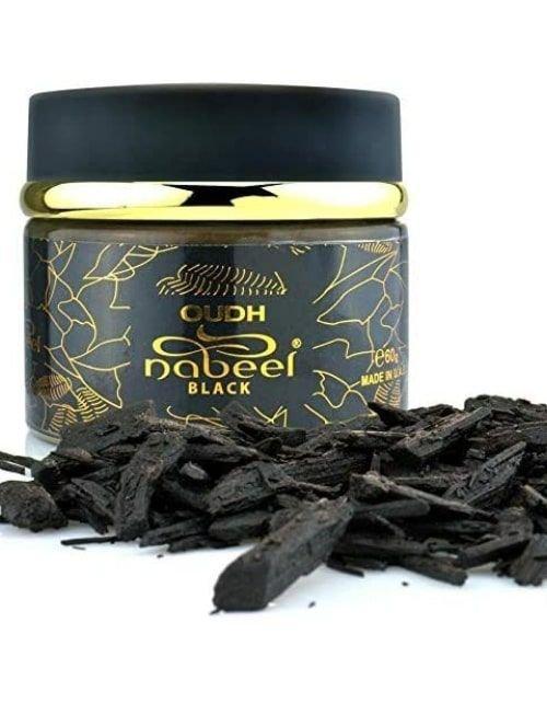 Black Oud Incense by Al Nabeel for Unisex, Incense Perfume, 60g