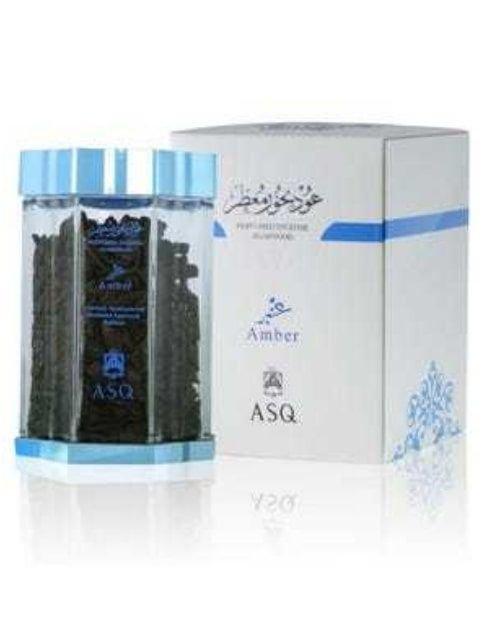 بخور عود بالعنبر من عبد الصمد القرشي، بخور معطر 70 غرام