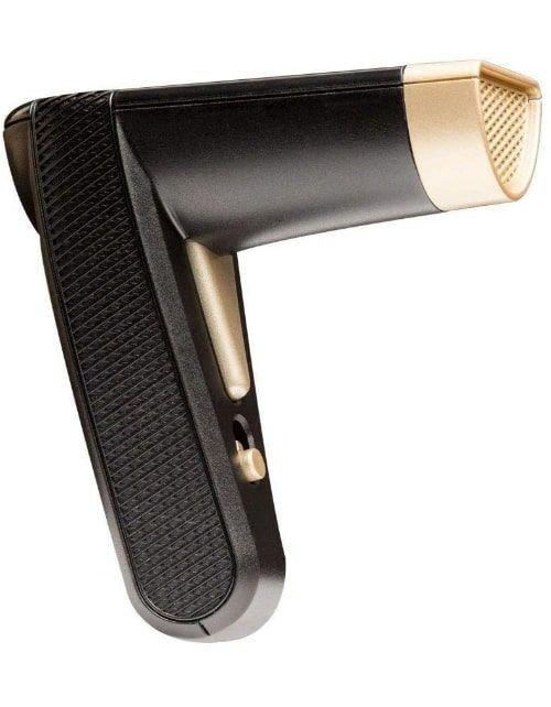 Dukhoon Portable Electric Incense Burner, USB, Rechargeable, Black Gold