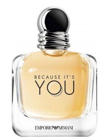 Because It's You By Emporio Armani For Women, Eau de Parfum, 100 ml