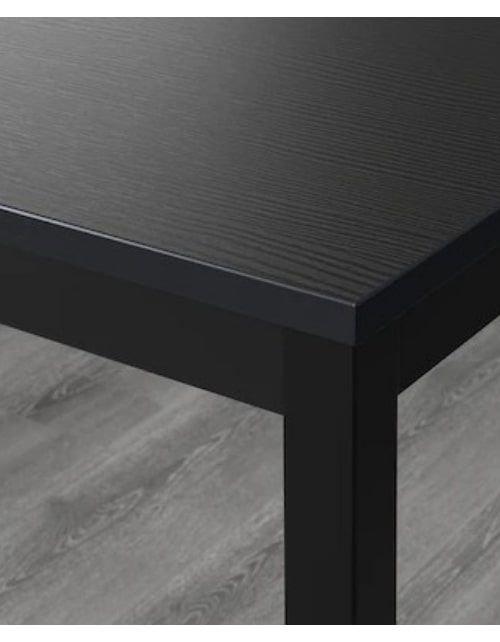 طاولة سفرة تاريندو من إيكيا، مقاومة للحرارة والخدش، لون أسود
