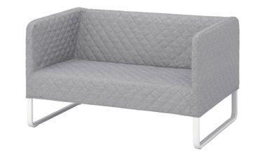 Knisa 2-Seat Sofa from IKEA, Fabric, Light Grey