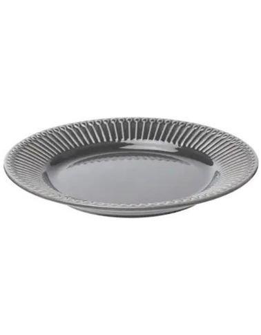 Ikea Side Plate, Ceramic, Heat resistant, Gray