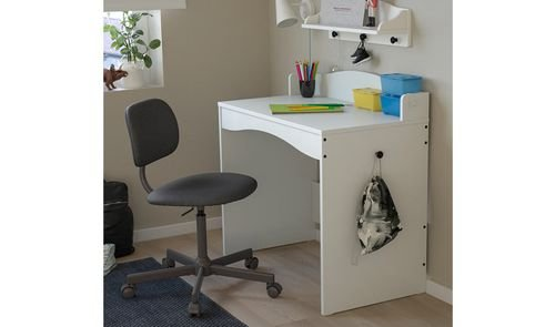 مكتب أطفال سماغويرا من أيكيا، 93x51 سم، أبيض