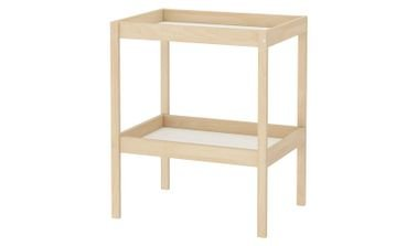 SNIGLAR Kids Changing Table from IKEA, 72x53 cm, Beech/White