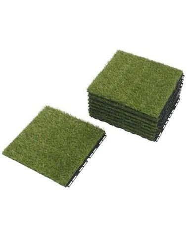 Ikea synthetic grass house parquet, 30 x 30 cm, 9 pieces, green