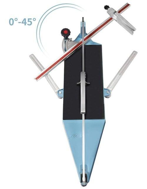قطاعة بلاط وسيراميك من Nisorpa، طول قطع 630 ملم، 25 بوصة، تعديل زاوية القطع