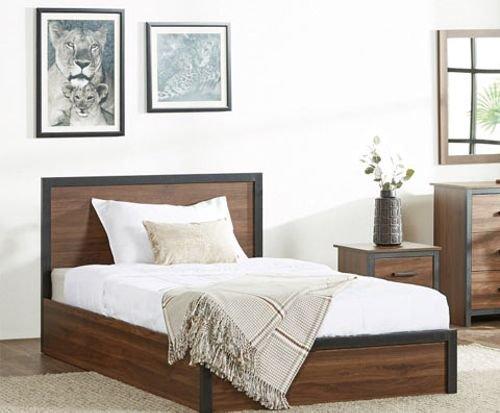 طقم غرفة نوم أطفال من بوسطن، 5 قطع، لون بني