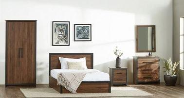 Boston Kids Full Bedroom Set, 5-Piece, Brown