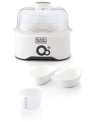 Black & Decker Egg Boiler, 280 Watt, 7 Egg Capacity, White