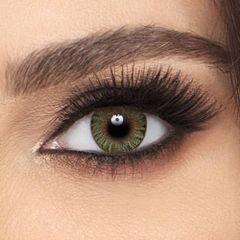 عدسات ملونة تجميلية كولور بليندز فريش لوك، 2 قطعة، شهرية، لون أخضر