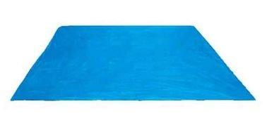 قاعدة مسبح أرضية من إنتكس، 427x427 سم، أزرق