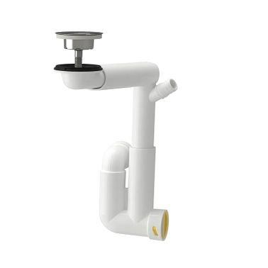 Raennilen Water trap from IKEA, 1 Bowl, White
