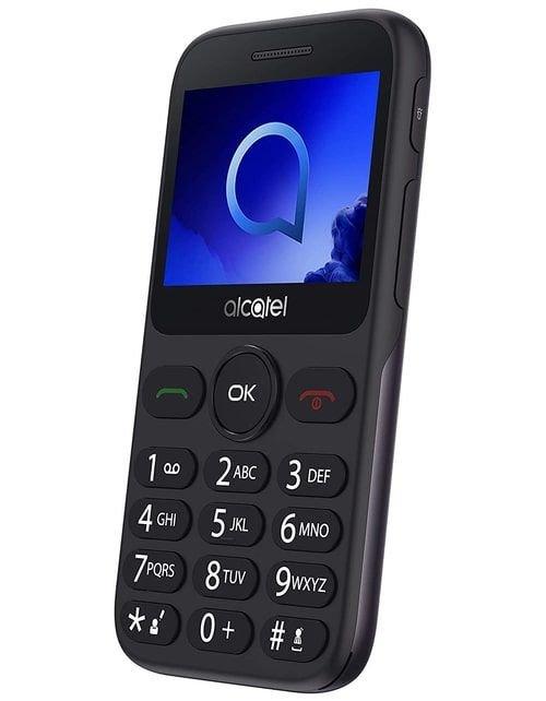 هاتف الكاتل 2019 جي، شاشة 2.4 بوصة، 2 جي، 4 ميجابايت، فضي