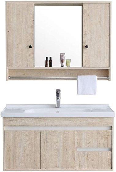 HIZLJJ Bathroom Set of 3 piece, Brown color