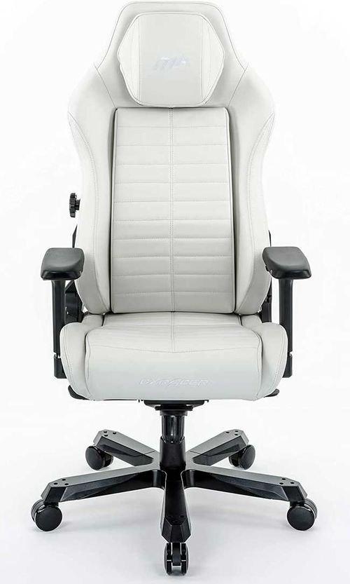 كرسي ألعاب دي إكس ريسر ماستر، لون أبيض